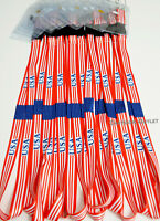 12 USA Flag Lanyard Keychain ID Holder Neck Strap America Lanyards Favors Lot