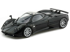Motor Max 1/18 Scale Pagani Zonda F Black Diecast Car Model 79159