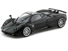 Motor Max 1/18 Scale Pagani Zonda F Black Diecast Car Model 79159