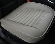 Gray PU Leather Car Bamboo Charcoal Full Surround Seat Cover Pad Protect Cushion