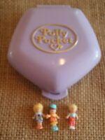 Vintage Bluebird Polly Pocket 1992 Fast Food Restaurant Compact Bonus Doll X1