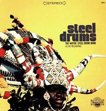 STEEL DRUMS LP NATIVE STEEL DRUM BAND A LIVE RECORDING