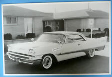 """1957 DeSoto Adventurer 2 Door Hardtop 12 X 18"""" Black & White Picture"""