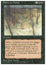MTG 4x ASHES TO ASHES - 4th Edition *Removal*