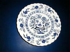 "J G Meakin England Blue Onion BLUE NORDIC 7"" Dessert/Pie Plate/s (loc-sau72)"