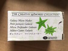 Creative Memories Galaxy Micro Maker Paper Punch, NEW