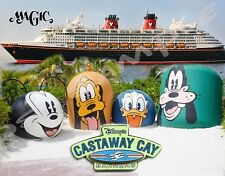 Bahamas - Castaway Cay # 2 - Disney Magic - Souvenir Fridge Magnet