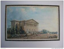 reproduction gravure vue du palais du corps législatif Paris 1754 - 1826