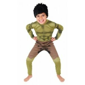 Selection of Children's The Hulk Avengers Fancy Dress Costumes Party Outfit