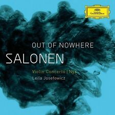 Leila Josefowicz - Salonen: Out of Nowhere Violin Concerto - Nyx [New CD]