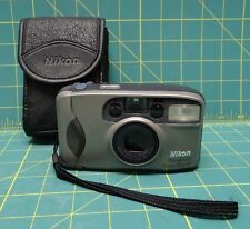 Nikon One Touch Zoom 70 AF 35mm Point and Shoot Film With Soft Case