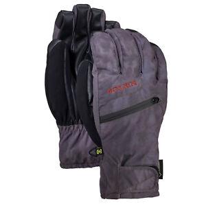 BURTON Mens 2019 Snowboard Snow - Gore-tex Under Gloves - Cloud Shadows