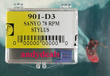 EVG STYLUS  NEEDLE CROSLEY NP4 NP-4 Crosley CR-249 CR-245 CR-246 78 RPM 901-D3