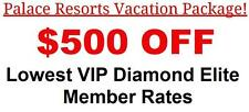 Cozumel Palace Resort Hotel Black VIP Concierge Level All Inclusive Mexico 1500
