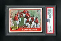 1965 TOPPS #139 WORLD SERIES THE CARDS CELEBRATE PSA 8 NM/MT CENTERED!