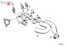 Genuine BMW 114 2471 2472 E3 Vacuum Control Exhaust Flap Hose OEM 11727545323