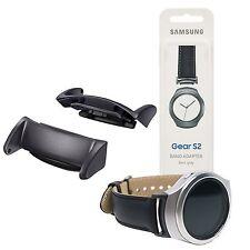 Ricambio originale Samsung adattatore banda metallo GRIGIO per cinturino Gear S2