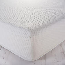 100 % MEMORY FOAM MATTRESS TOPPER WITH WASHABLE ZIP COVER 6 INCHES DEEP
