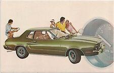 1975 Ford Mustang II 2-Door Automobile Advertising Postcard