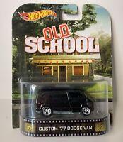 Details about  /Hot Wheels Retro Entertainment Old School CUSTOM /'77 DODGE VAN Fast Ship 9A