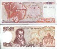 Griechenland Pick-Nr: 200b gebraucht (III) 1978 100 Drachmai