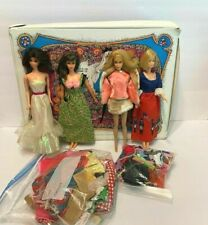 New ListingVintage Barbie Case, 4 Dolls, Clothing & Accessories
