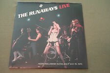 The Runaways Live Agora Ballroom Cleveland 1976 Sealed Import LP Joan Jett