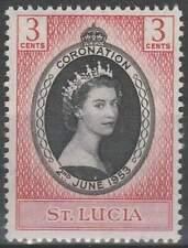St. Lucia postfris 1953 MNH 145 - Coronation Elisabeth II (028)