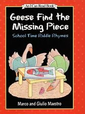 Geese Find the Missing Piece: School Time Riddle R