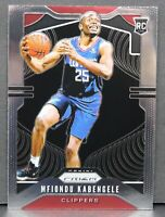 Mfiondu Kabengele RC 2019-20 Panini Prizm Rookie Card #271 LA Clippers Base Card