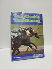 Daily Double Horse Racing Commodore 64 C64 New in Box Artworx 186