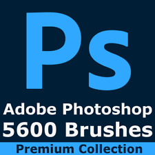 Photoshop Brushes for All CC Effects Artistic Textures Spray Stars Grunge Tech