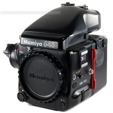 Mamiya 645 Pro Corpo Con Pellicola Retro ha401 + AE Prism Finder fe401 + CRANK