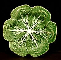 BORDALLO PINHIERO GREEN CABBAGE DINNER PLATE NWOB MADE IN PORTUGAL