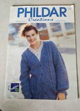 Phildar Knitting Magazine 250 16 sweater Patterns pullover cardigan tunic