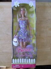 2008 Easter Pretty Barbie Doll New Old Stock in Box