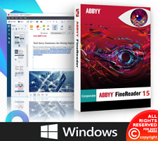 ABBYY Finereader 15 Corporate Edition Lifetime For Windows ✔️
