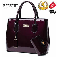 Leather Women Handbag Purse Shoulder Zipper Satchel Crossbody Bag Messenger Tote