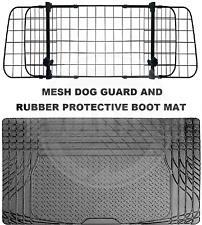 To fit PEUGEOT 106 107 108 DOG PET GUARD BARRIER RUBBER BOOT MAT 2 PIECE