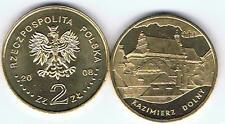 """Kazimierz Dolny"""" 2 Zl Muenze 2008 Bfr"""
