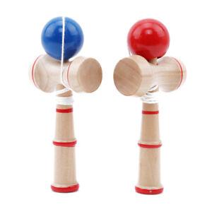 Jumbo Kendama Japanese Traditional Game Educational Skillful Wooden Toy L