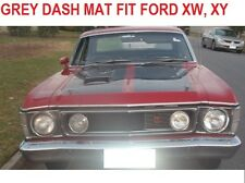 DASH MAT, GREY DASHMAT FIT FORD FALCON XW, XY 1969 - 1972,GREY