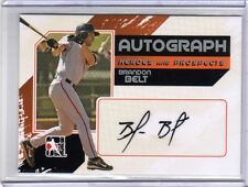 BRANDON BELT 2011 ITG Prospects RC Auto Autograph /390 San Francisco Giants Card
