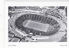 """+Pc-Postcard-""""Cotton Bowl""""(aka;Fair Park Stadium) *Dallas Landmarks (A4-1)"""
