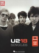U2 18 Singles The Saints are Coming Learn to Play EASY Guitar TAB Music Book