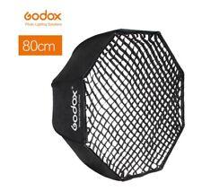 "GODOX Portable 80cm 32"" Umbrella Octagon Softbox + Honeycomb Grid Reflector"