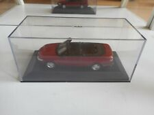 Minichamps Saab 900 Cabriolet in Red on 1:43 in Box