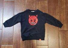 Zara kids boys devil emoji sequins sweatshirts