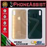 VETRO POSTERIORE SCOCCA iPhone XS BACK COVER BATTERIA FORO + LARGO Oro Gold