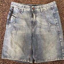 NEW! $210 Diesel Black Gold STEEPY Women's Shorts W30 Made In Italy